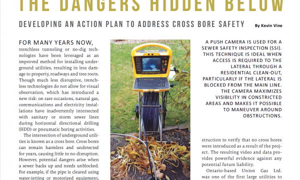 The Dangers Hidden Below, Trenchless Technology Magazine