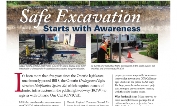 Safe Excavation Starts With Awareness
