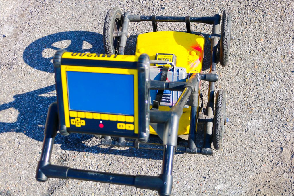 Ground Penetrating Radar (GPR) can be deployed in 'Locate & Mark' mode for rapid on-site solutions or 'Survey & Map' to thoroughly define subsurface infrastructure.