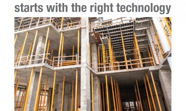 Safe Construction Starts with the Right Technology
