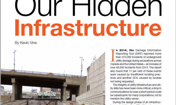 Subsurface Utility Engineering, Ear to the Ground Magazine