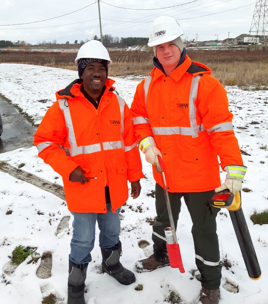 Rain, shine or snow, we work in all types of weather conditions, and we take extra Health & Safety precautions when the temperature plummets.