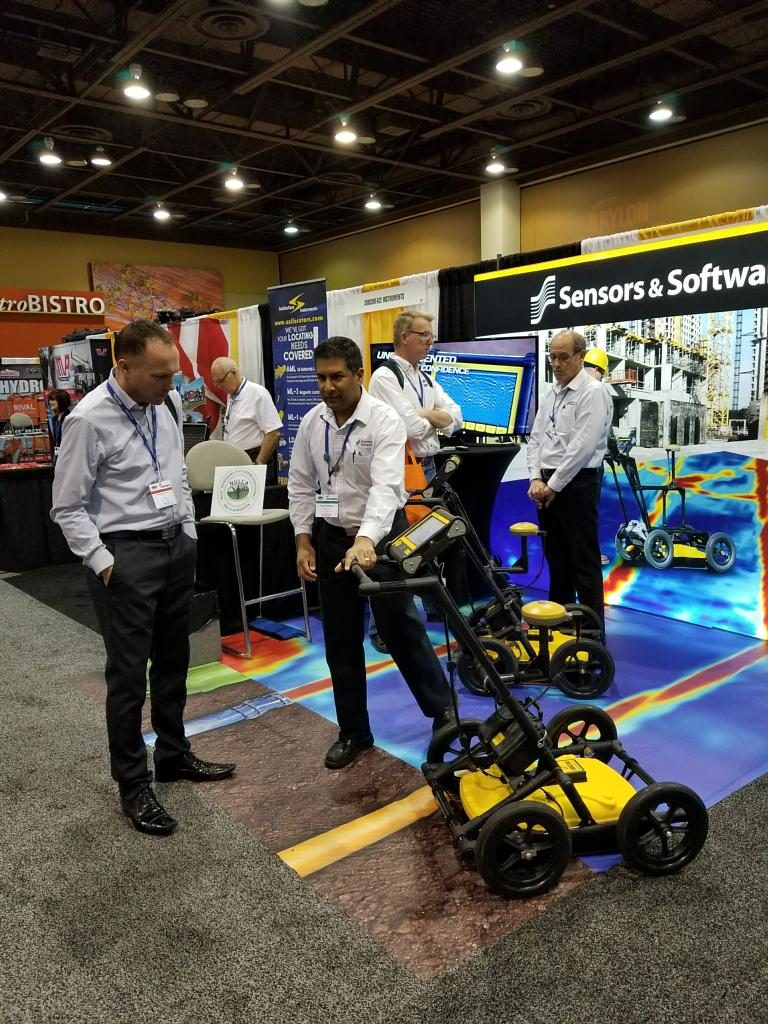 Kevin Vine catches up with Sensors and Software at the recent Common Ground Alliance (CGA) 811 Excavation Safety Conference.