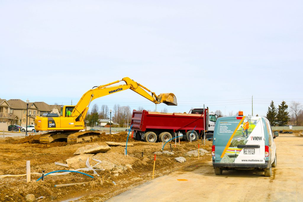 multiVIEW takes the risk out of excavation by accurately locating utilities prior to digging.