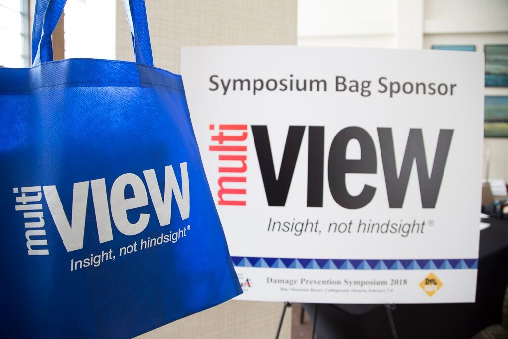 multiVIEW was pleased to be a symposium bag sponsor at the 2018 ORCGA Damage Prevention Symposium.