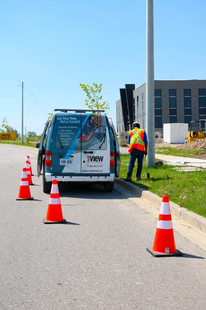 Our concrete scanning truck is on the road!