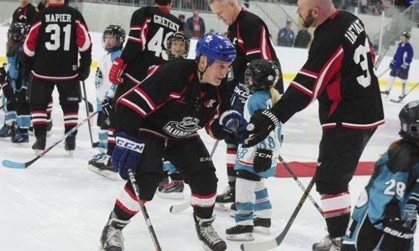 NHL Alumni Benefit Tour Hockey Game