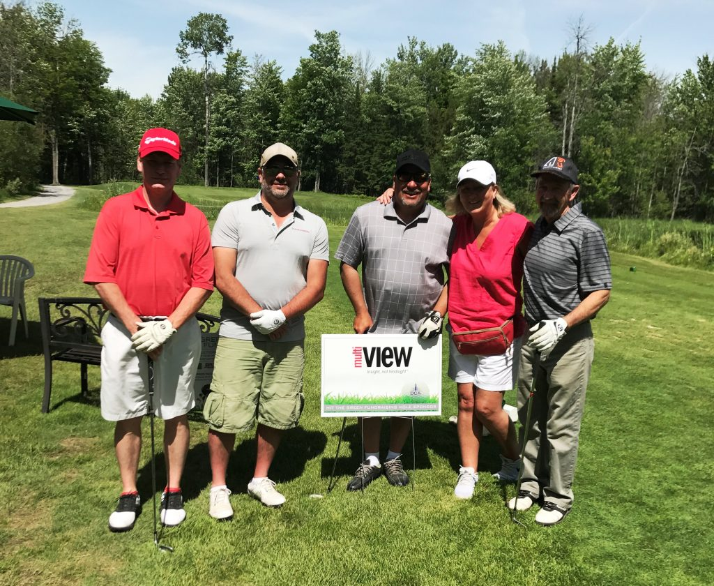 multiVIEW was thrilled to be a charity hole sponsor at the Ottawa Construction Association golf tournament!