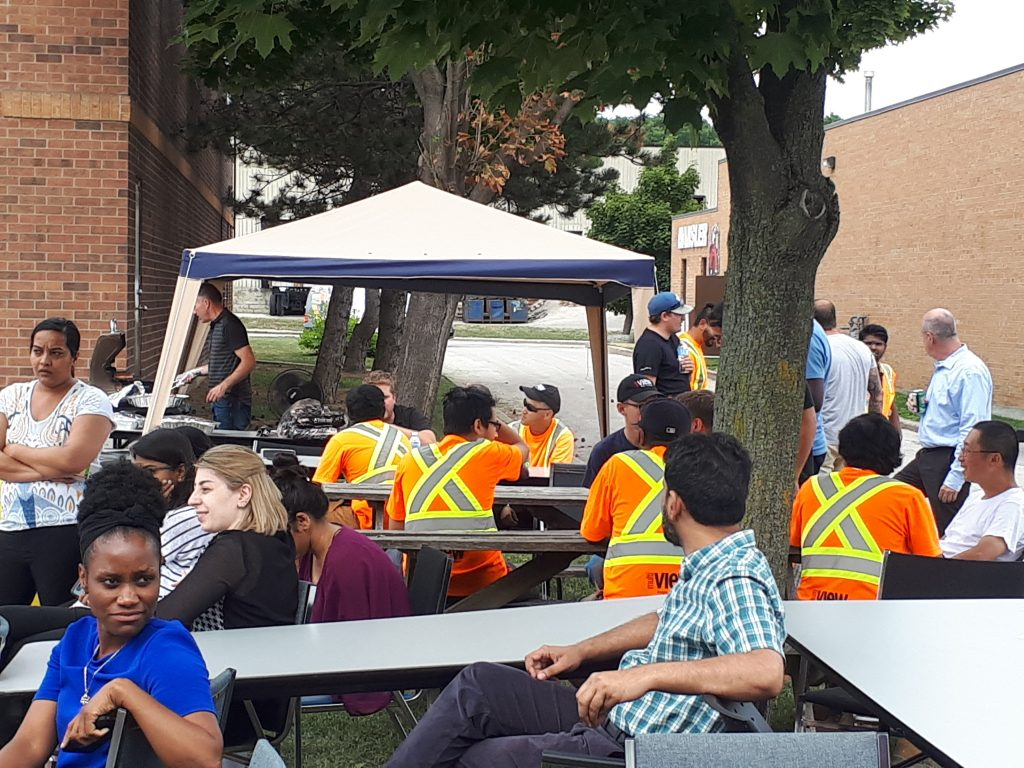 We had a great turnout and plenty of sunshine for the annual multiVIEW Mississauga BBQ!