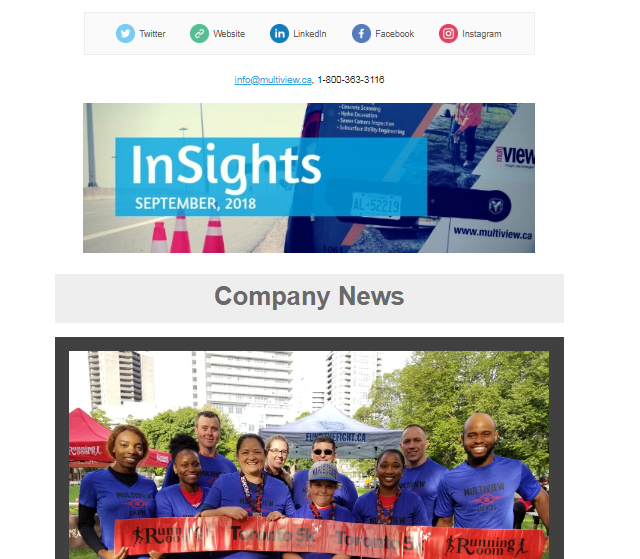 Welcome to the September issue of multiVIEW InSights