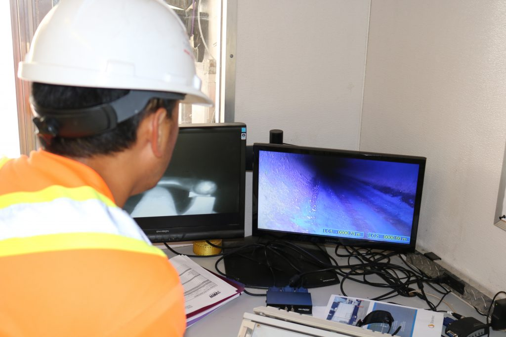 Our NASSCO certified CCTV sewer inspection services yield high resolution videos that provide detailed insights on pipe condition and performance.