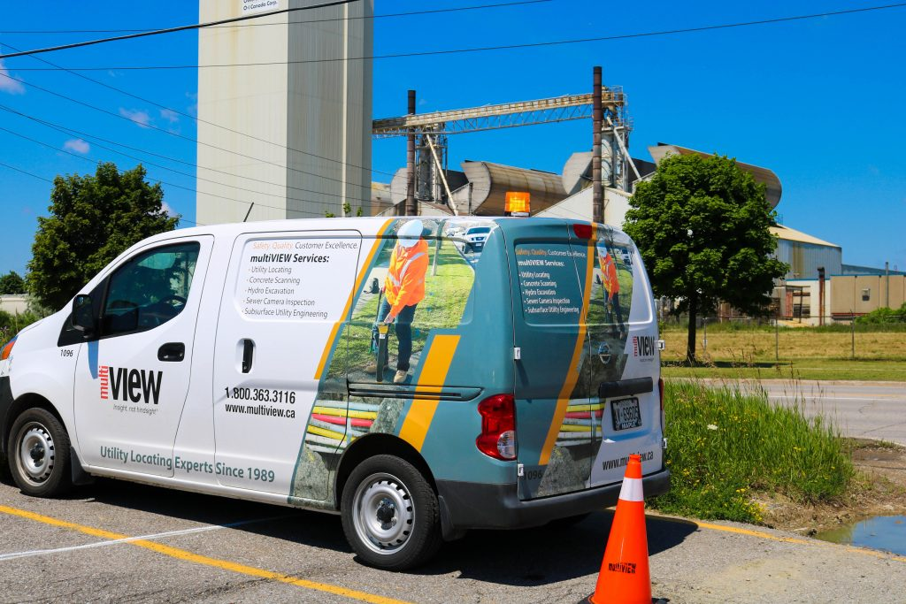 multiVIEW is pleased to be supporting safe construction in Peel Region by locating public utilities across Brampton and Mississauga.