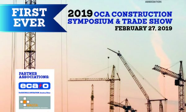 2019 Ottawa Construction Association (OCA) Symposium and Trade Show