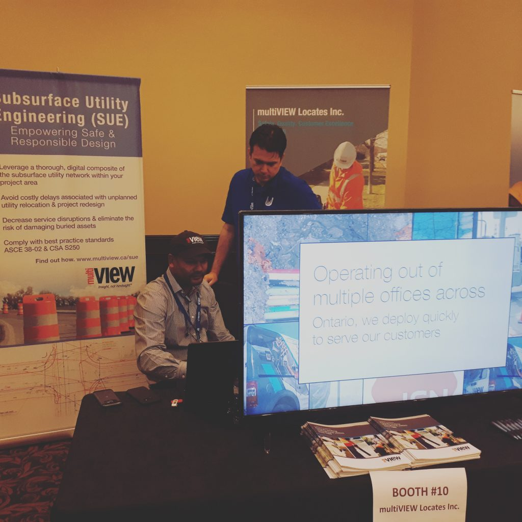 We had a great time discussing Right of Way management and utility locating at the 2018 OPWA ROW Conference.