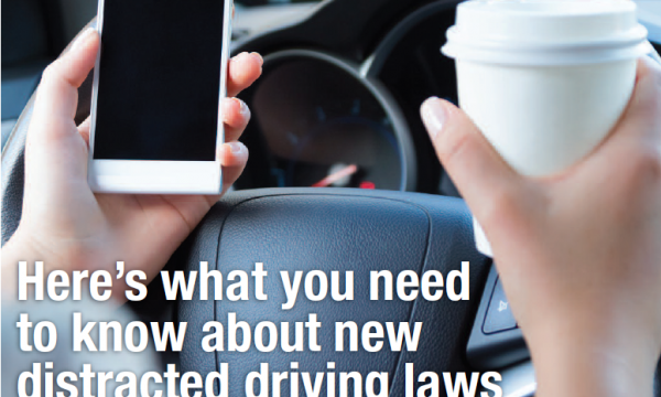 Distracted Driving – Ontario's New Laws