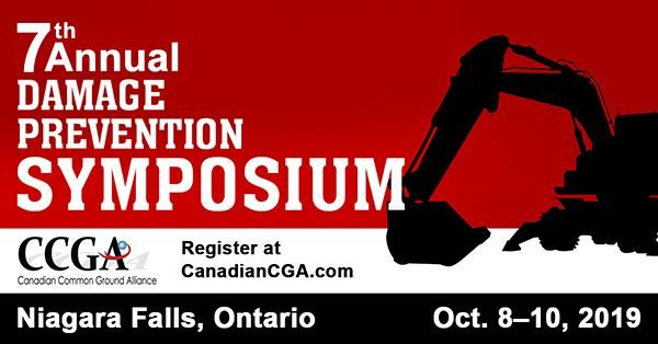 Canadian Common Ground Alliance (CCGA) 2019 Damage Prevention Symposium