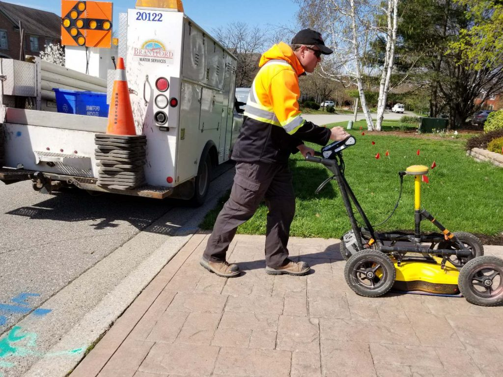 "multiVIEW applies Ground Penetrating Radar (GPR) to locate traditionally ""un-locatable"" utilities and underground anomalies. GPR is ideal when non-metallic utilities are believed to reside in the project area such as plastic, fiber optic, cable TV lines, water and concrete sewer lines."