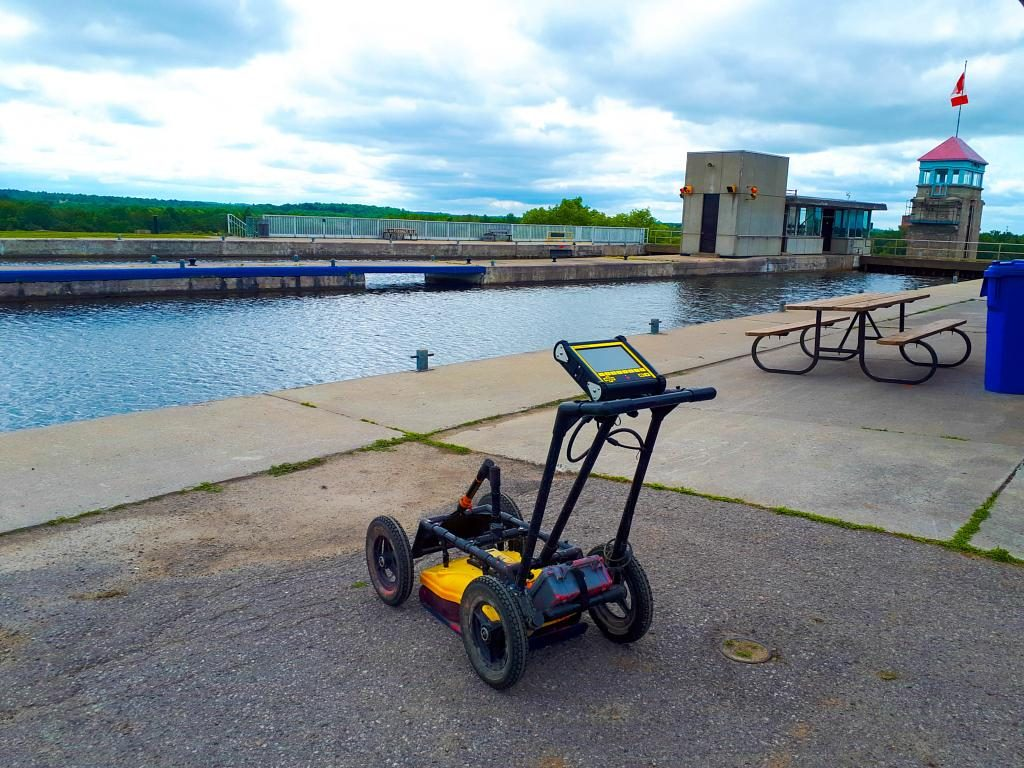 multiVIEW was pleased to complete a Ground Penetrating Radar scan on the Peterborough Lift Lock National Historic Site. When developed in 1904, it was the highest hydraulic lift lock ever built, and still remains a marvel of engineering both nationally and abroad.