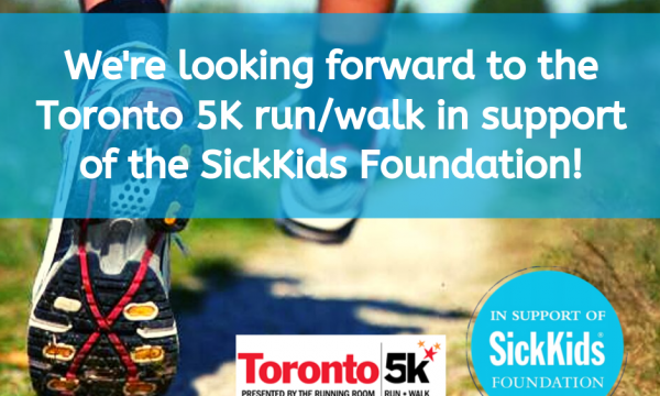Toronto 5K Run/Walk in support of the SickKids Foundation