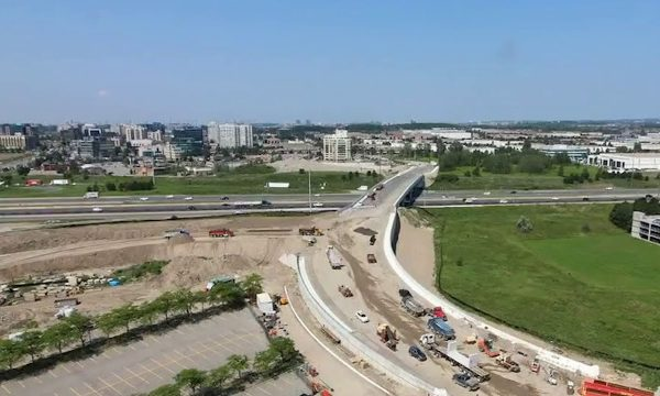 multiVIEW participates in Highway 404/Highway 7 interchange transformation