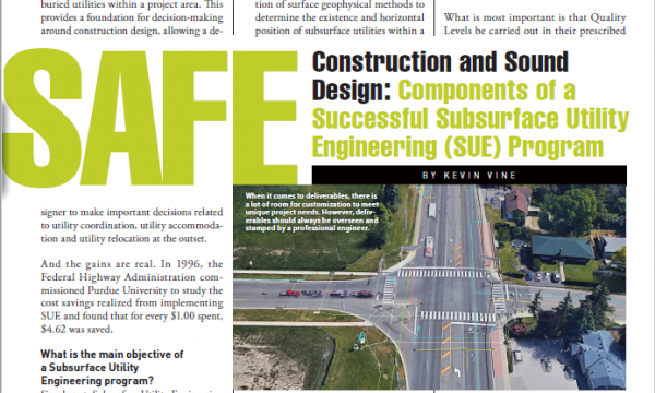 Empowering Safe Construction and Sound Design through Subsurface Utility Engineering