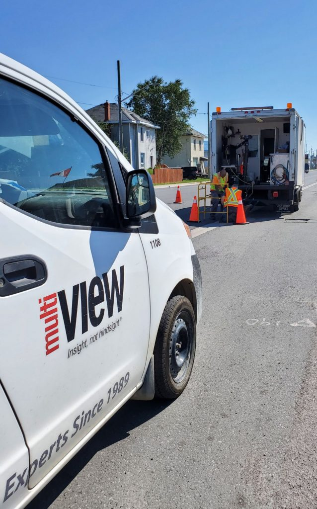 A little storm sewer flushing & CCTV action in beautiful Havelock, Ontario.