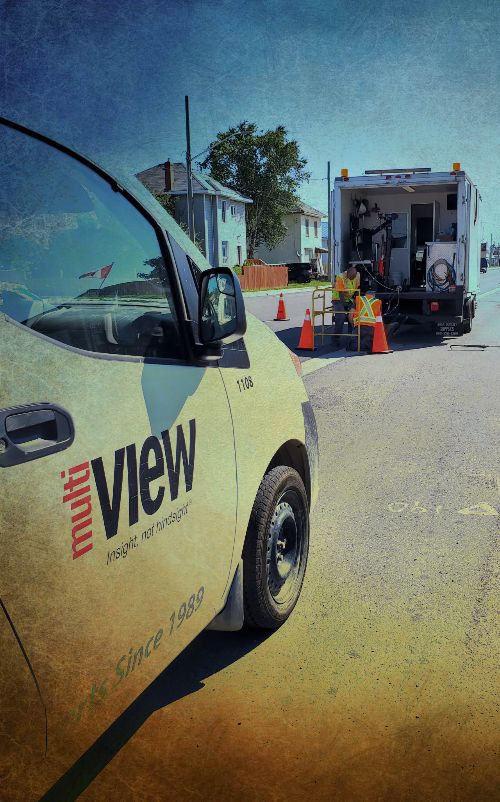 A little storm sewer flushing & CCTV action in beautiful Havelock, Ontario