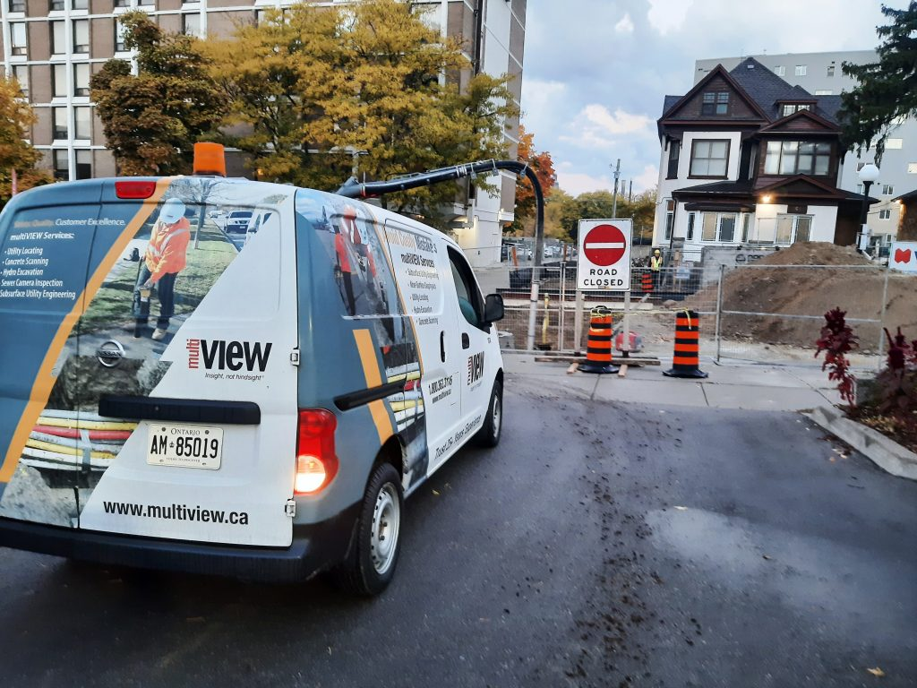 multiVIEW was onsite to ensure safe, effective project design by delivering hydro vacuum excavation services and accurately locating buried wastewater utilities. Find out more about our range of services that can help your next project succeed.