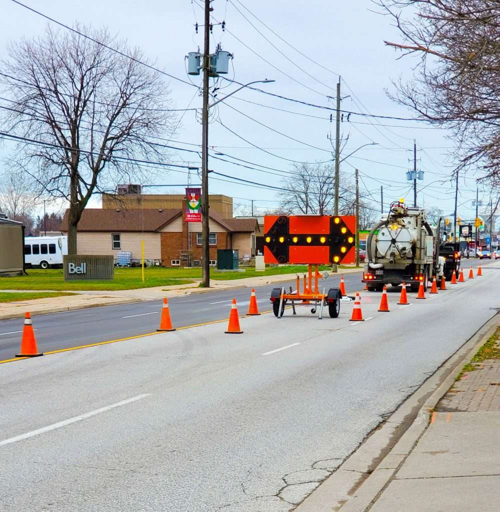 multiVIEW's commitment to Health & Safety includes creating Traffic Management Plans (TMPs) customized to each project.