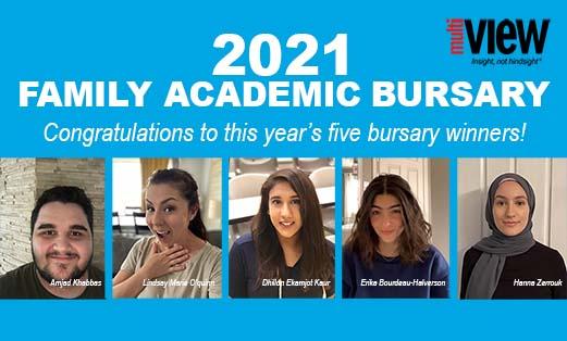 2021 Family Academic Bursary Winners